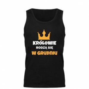Męska koszulka Królowie rodzą się w grudniu