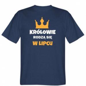 Koszulka Królowie rodzą się w lipcu