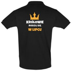 Koszulka Polo Królowie rodzą się w lipcu
