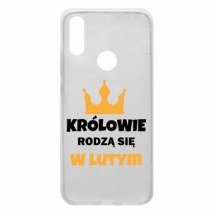 Etui na Xiaomi Redmi 7 Królowie rodzą się w lutym