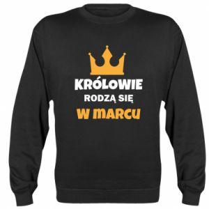 Bluza (raglan) Królowie rodzą się w marcu