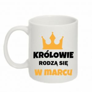 Mug 330ml Kings are born in March