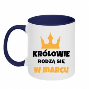 Two-toned mug Kings are born in March