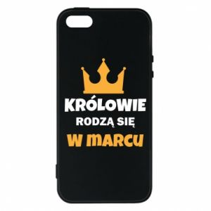 Phone case for iPhone 5/5S/SE Kings are born in March