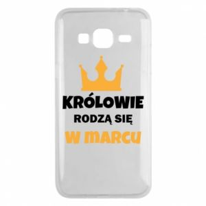 Phone case for Samsung J3 2016 Kings are born in March