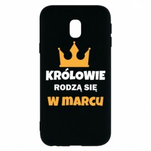 Phone case for Samsung J3 2017 Kings are born in March