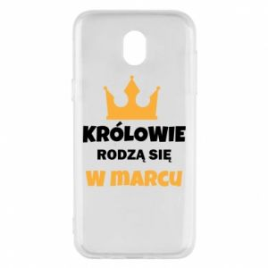 Phone case for Samsung J5 2017 Kings are born in March