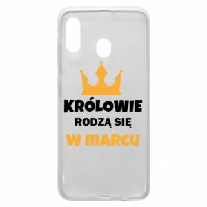 Phone case for Samsung A20 Kings are born in March