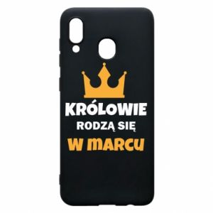 Phone case for Samsung A30 Kings are born in March
