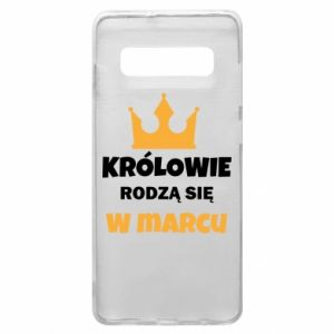 Phone case for Samsung S10+ Kings are born in March