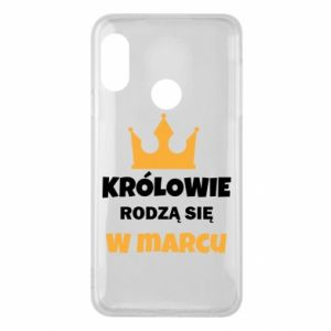 Phone case for Mi A2 Lite Kings are born in March