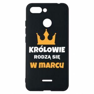 Phone case for Xiaomi Redmi 6 Kings are born in March