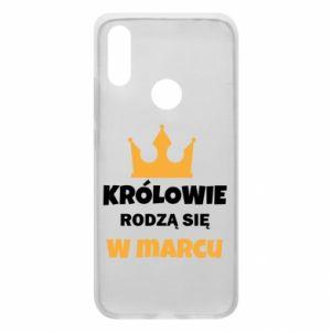 Etui na Xiaomi Redmi 7 Królowie rodzą się w marcu