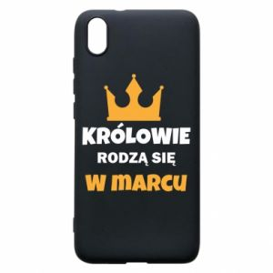Phone case for Xiaomi Redmi 7A Kings are born in March