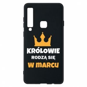 Phone case for Samsung A9 2018 Kings are born in March