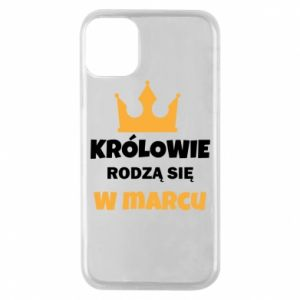 Phone case for iPhone 11 Pro Kings are born in March