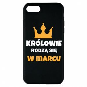 Phone case for iPhone 7 Kings are born in March