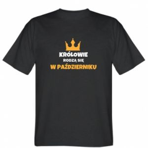 Koszulka Królowie rodzą się w październiku