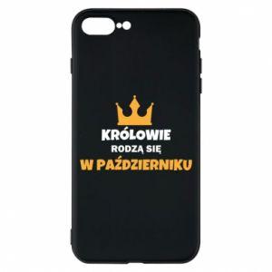 Etui na iPhone 8 Plus Królowie rodzą się w październiku