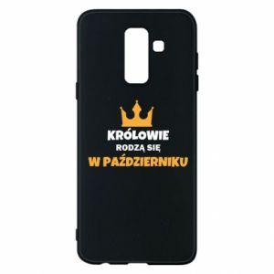 Etui na Samsung A6+ 2018 Królowie rodzą się w październiku