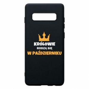 Etui na Samsung S10+ Królowie rodzą się w październiku