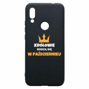 Etui na Xiaomi Redmi 7 Królowie rodzą się w październiku