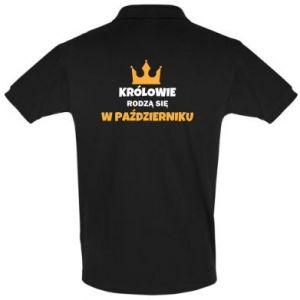 Koszulka Polo Królowie rodzą się w październiku