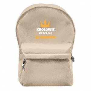 Plecak z przednią kieszenią Królowie rodzą się w sierpniu
