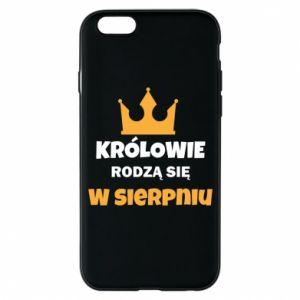 Etui na iPhone 6/6S Królowie rodzą się w sierpniu