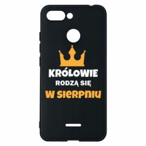 Etui na Xiaomi Redmi 6 Królowie rodzą się w sierpniu
