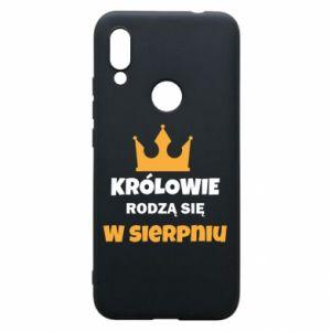 Etui na Xiaomi Redmi 7 Królowie rodzą się w sierpniu