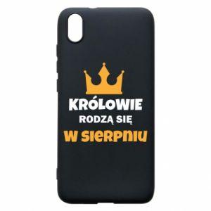 Etui na Xiaomi Redmi 7A Królowie rodzą się w sierpniu