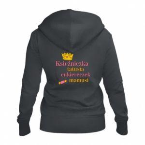 Bluza na zamek damska Księżniczka tatusia cukiereczek mamusi