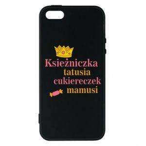 Etui na iPhone 5/5S/SE Księżniczka tatusia cukiereczek mamusi