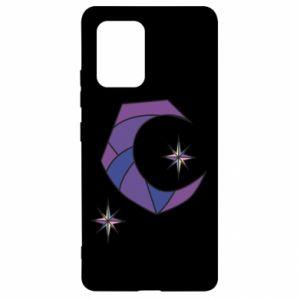 Etui na Samsung S10 Lite Księżyc i gwiazdy