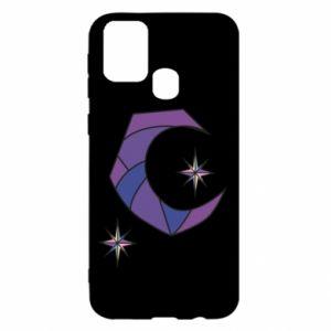 Etui na Samsung M31 Księżyc i gwiazdy