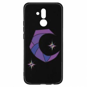 Etui na Huawei Mate 20 Lite Księżyc i gwiazdy