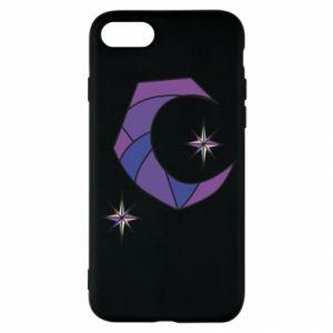 Etui na iPhone SE 2020 Księżyc i gwiazdy