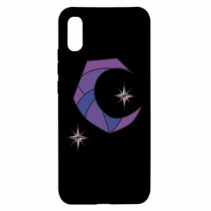 Xiaomi Redmi 9a Case Moon and stars