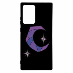 Etui na Samsung Note 20 Ultra Księżyc i gwiazdy