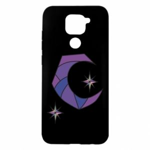 Xiaomi Redmi Note 9 / Redmi 10X case % print% Moon and stars