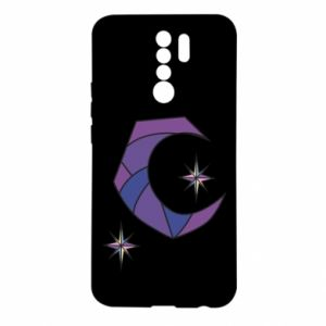 Etui na Xiaomi Redmi 9 Księżyc i gwiazdy