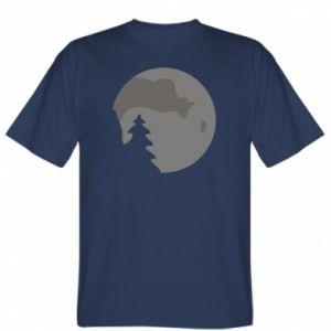 Koszulka męska Księżyc