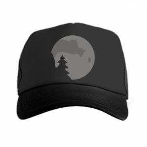 Trucker hat Moon