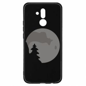 Etui na Huawei Mate 20 Lite Księżyc