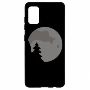 Samsung A41 Case Moon