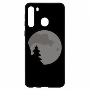 Samsung A21 Case Moon