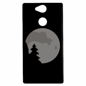 Etui na Sony Xperia XA2 Księżyc