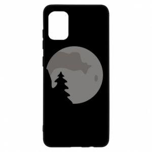 Samsung A31 Case Moon
