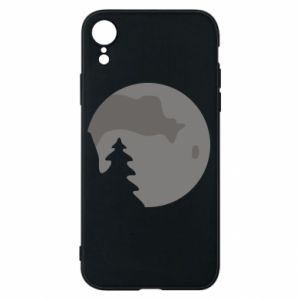 Phone case for iPhone XR Moon